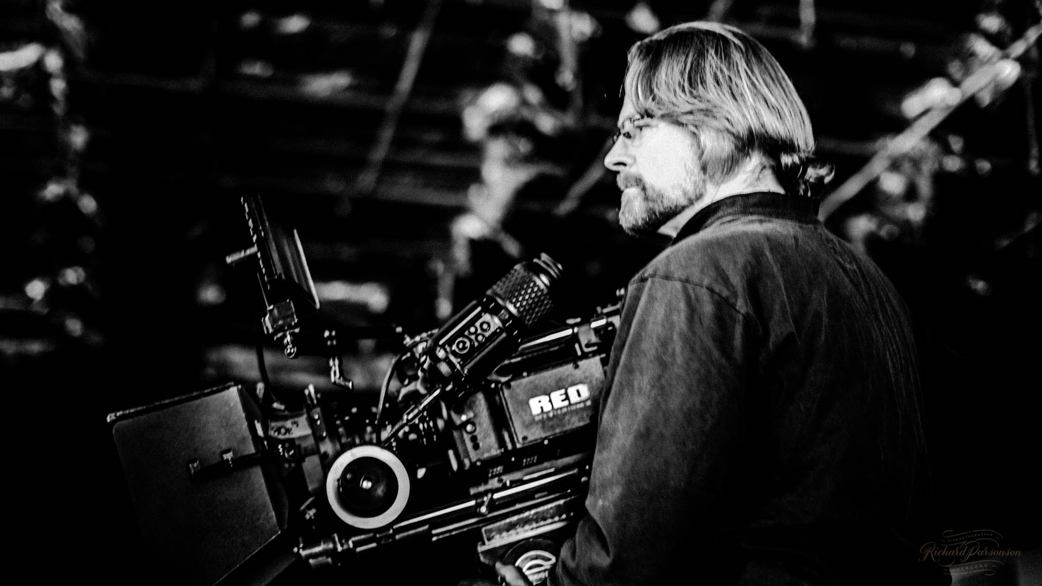 Behind the Scenes, Director of PHotography on set