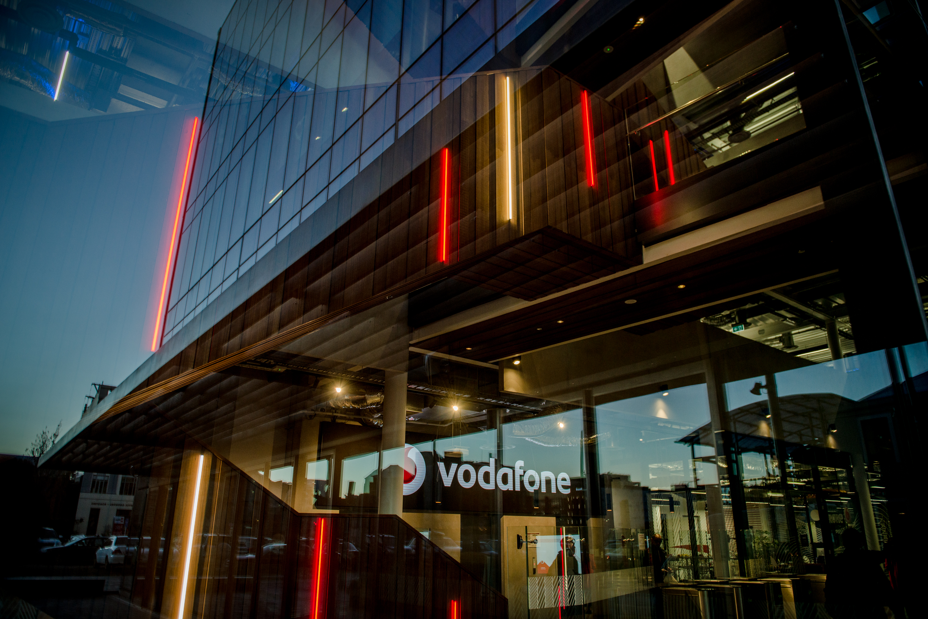 Vodafone Christchurch Building Photographs