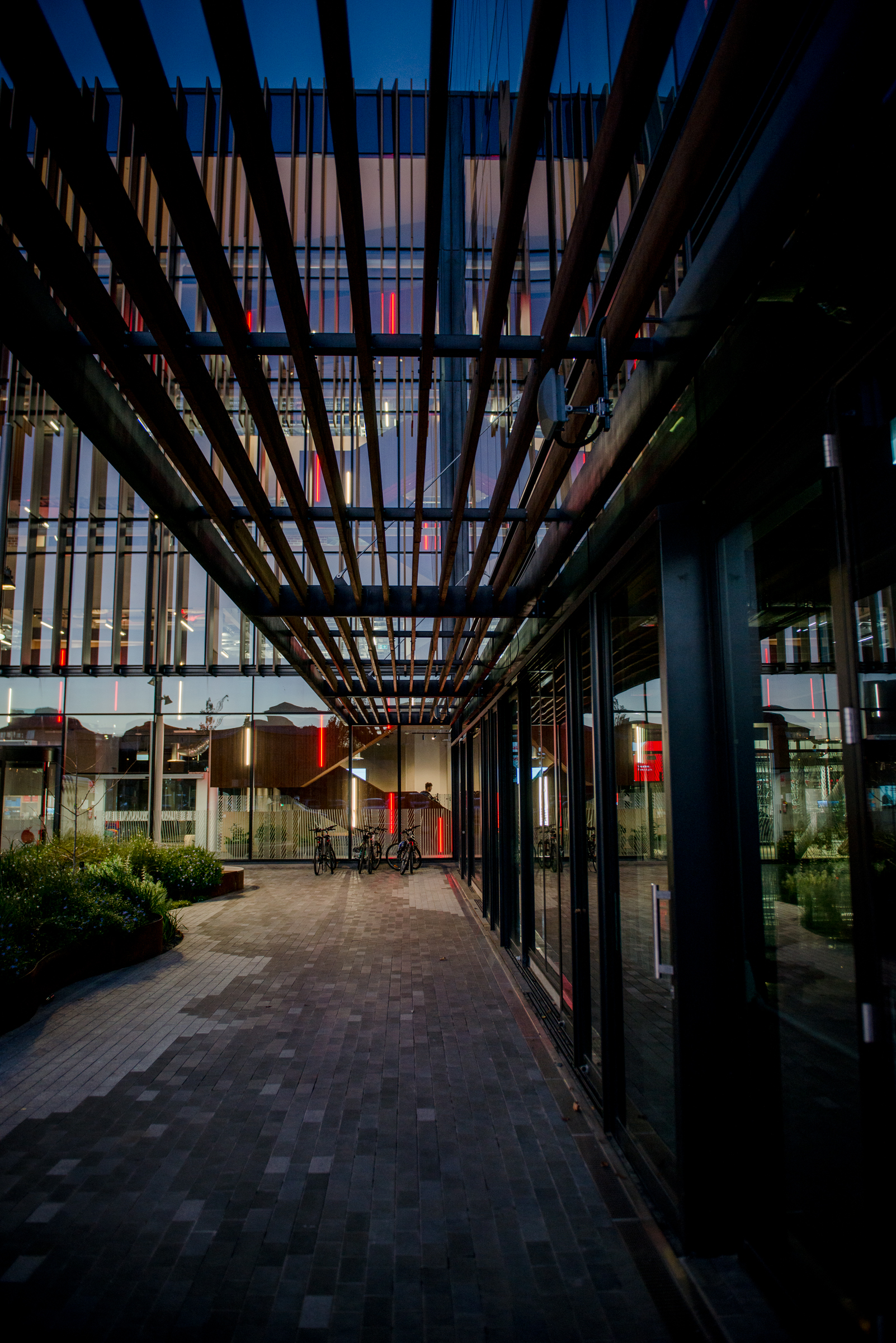 Vodafone Christchurch Building Photographsi